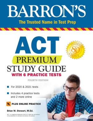 دانلود ویرایش چهارم کتاب Barron's ACT Premium Study Guide
