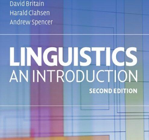 دانلود ویرایش دوم کتاب Linguistics An Introduction