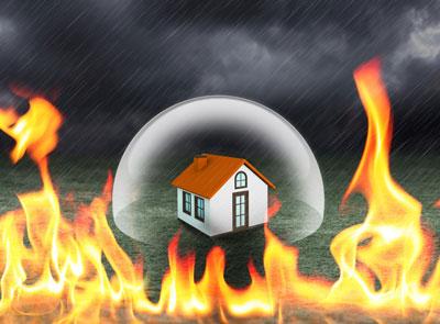 چگونه سرمایه خانه خود را در برابر خطراتی مثل آتش سوزی حفظ کنیم؟