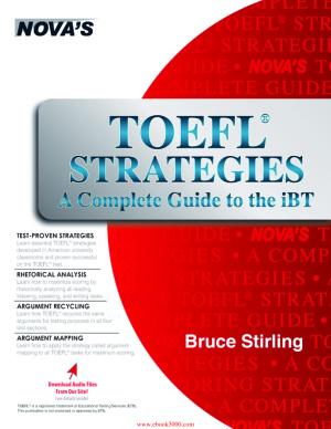 دانلود کتاب TOEFL Strategies: A Complete Guide to the iBT
