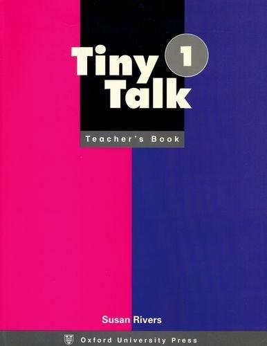 Tiny Talk 1 Teacher Book